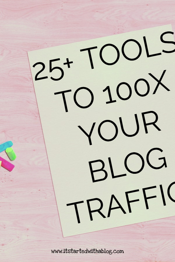 Using the correct blog tools and resources will grow your blog fast and increase your blog traffic #bloggrowth #blogtraffic #blogtools #startablog #blogresources