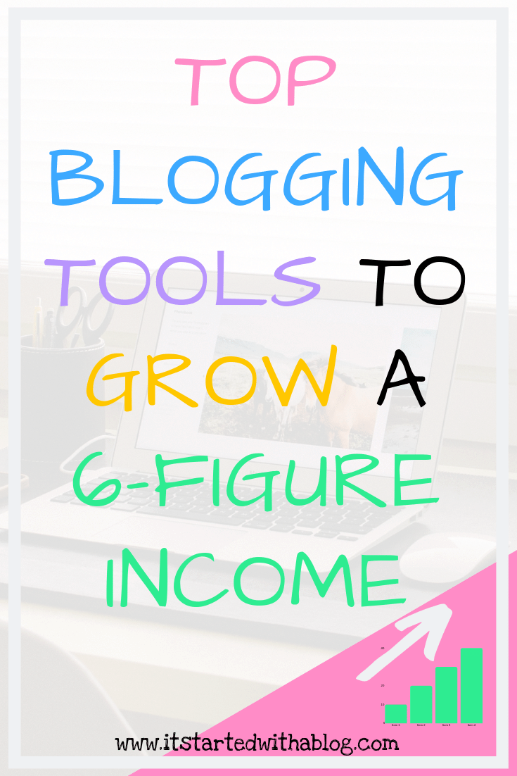 Blogging Tools To Grow A 6-Figure Income