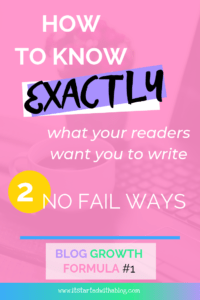 Do you know what to write about to get the most blog traffic and engagement? These two no fail methods will keep your readers coming back to your blog for continue blog growth and traffic! #bloggrowth #blogtraffic #emaillist #startablog