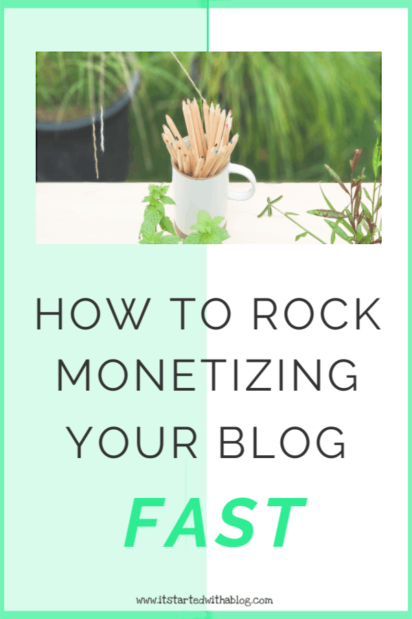 Make money with your blog by building a strong foundation. #montetize #startablog #blogtraffic
