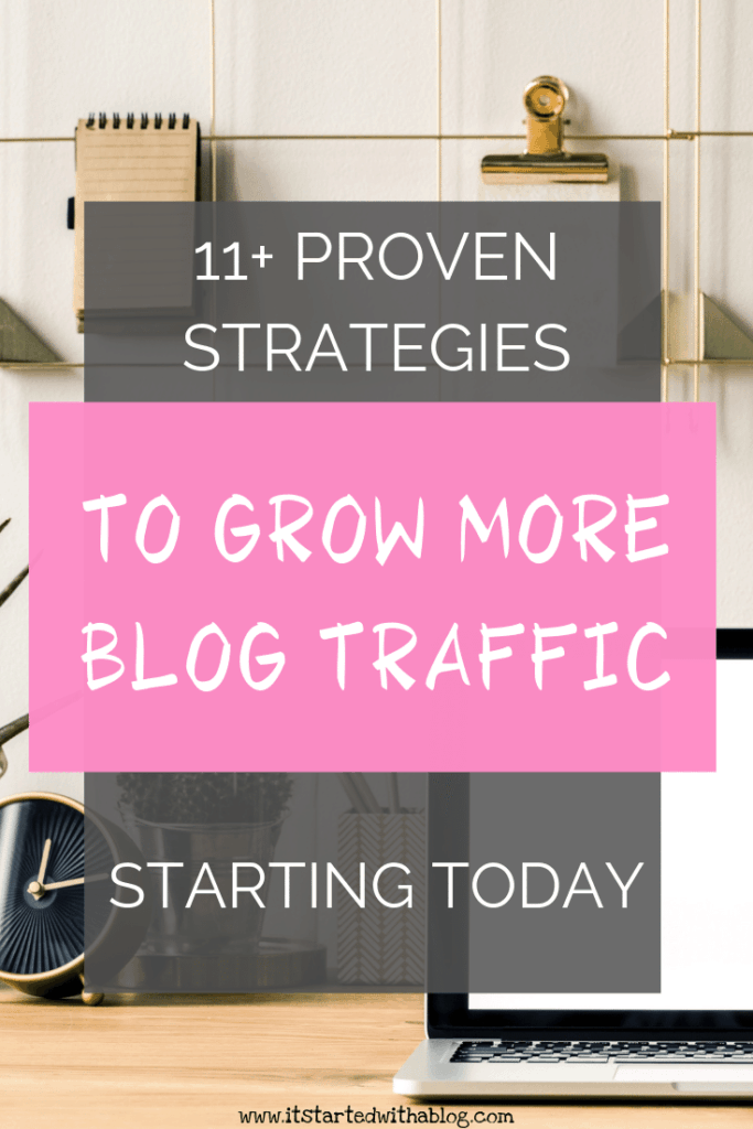 11+ proven strategies for more blog traffic