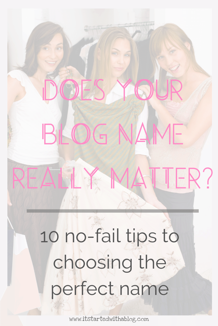 Ideas to name your blog when you have no idea