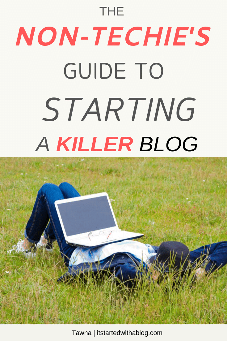 how to start a blog even if you don't have basic computer skills