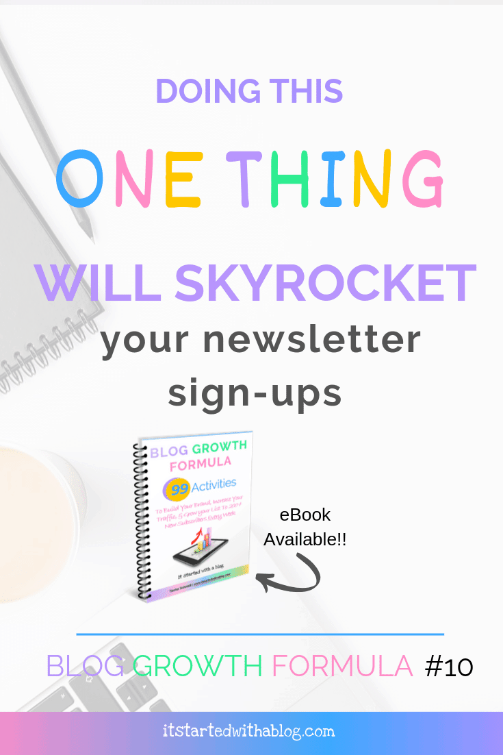 how to skyrocket your newsletter signups with an optin