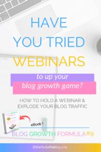 How Webinars Can Grow Your Blog Traffic
