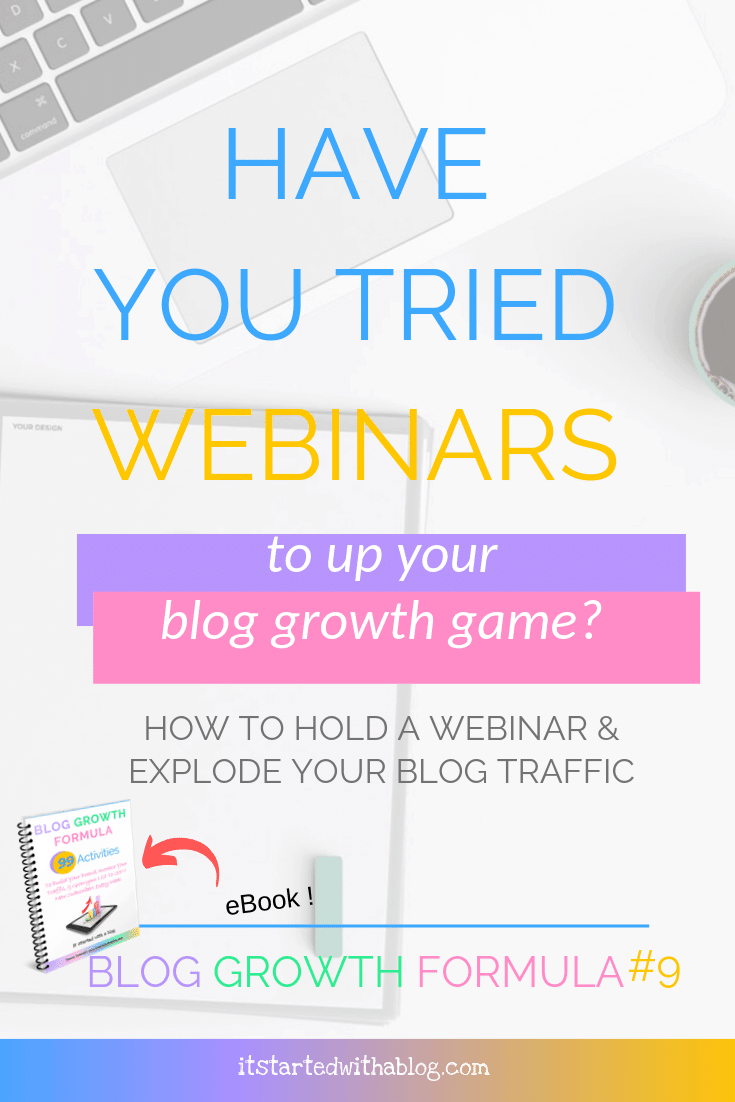 How Webinars Can Grow Your Blog Traffic