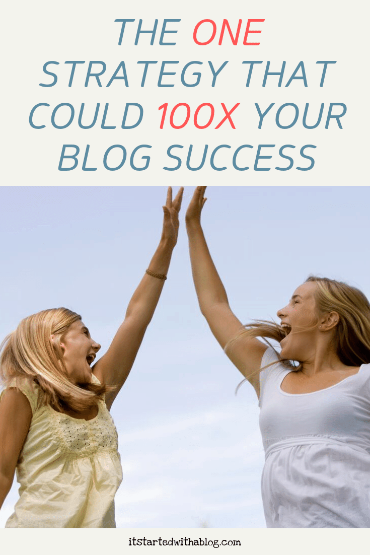 THE ONE STRATEGY THAT COULD 100X YOUR BLOG SUCCESS
