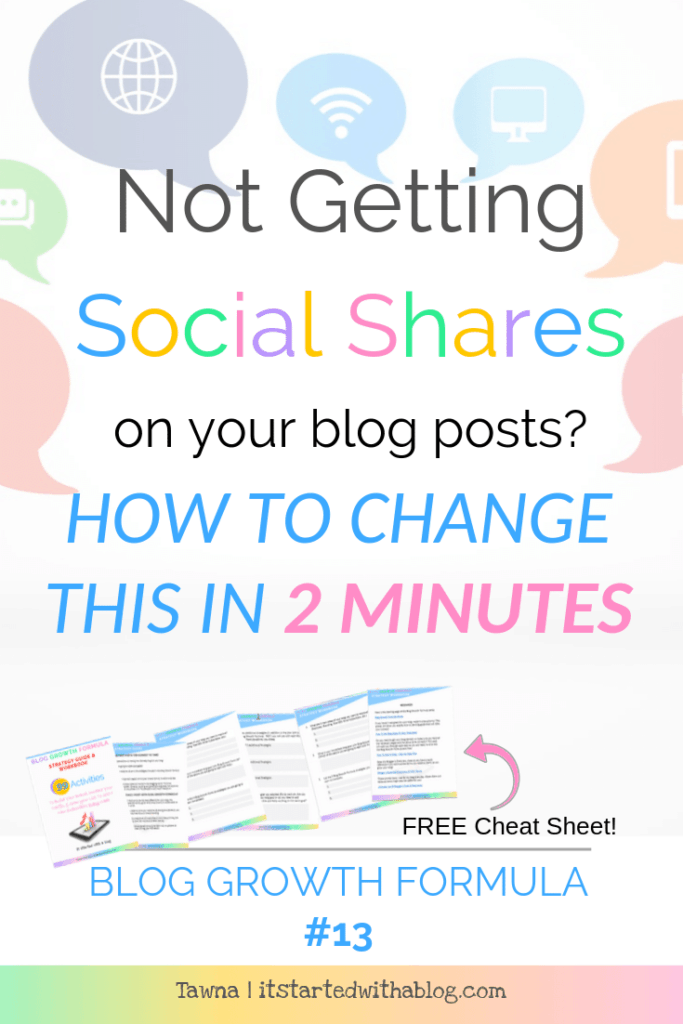 Do this if you need more shares from your blog posts