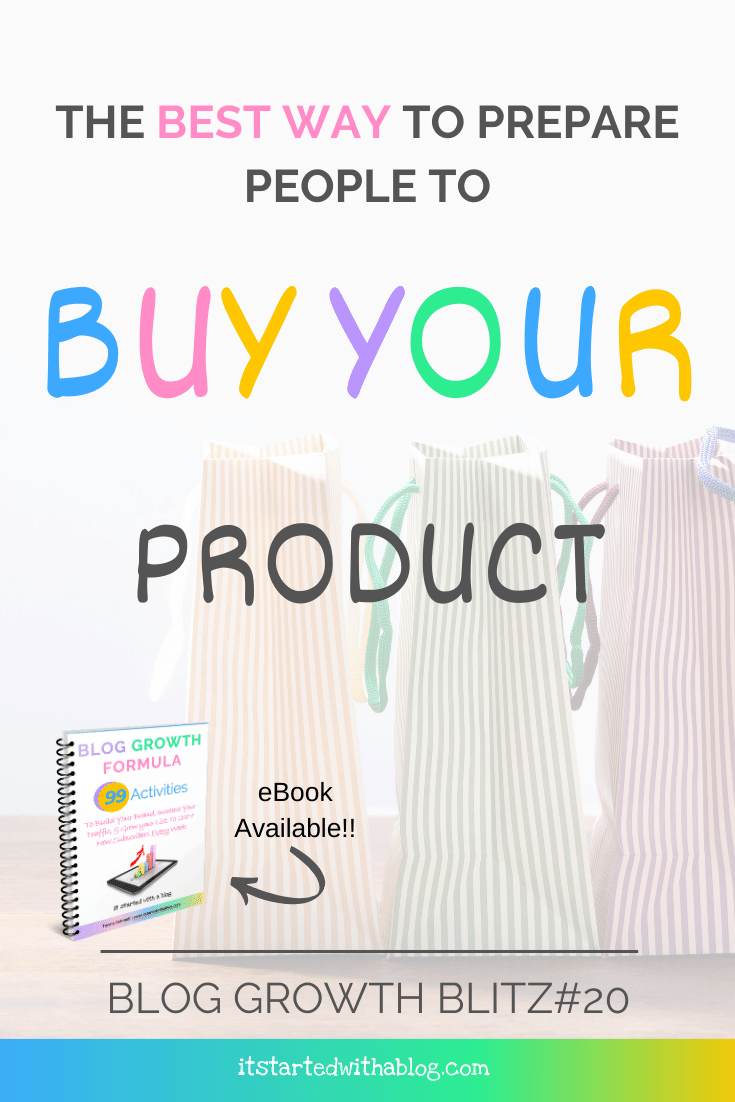 creating a challege is the best way to get subscribers to purchase a product