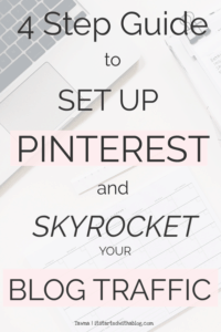 Set up Pinterest so your blog traffic grows