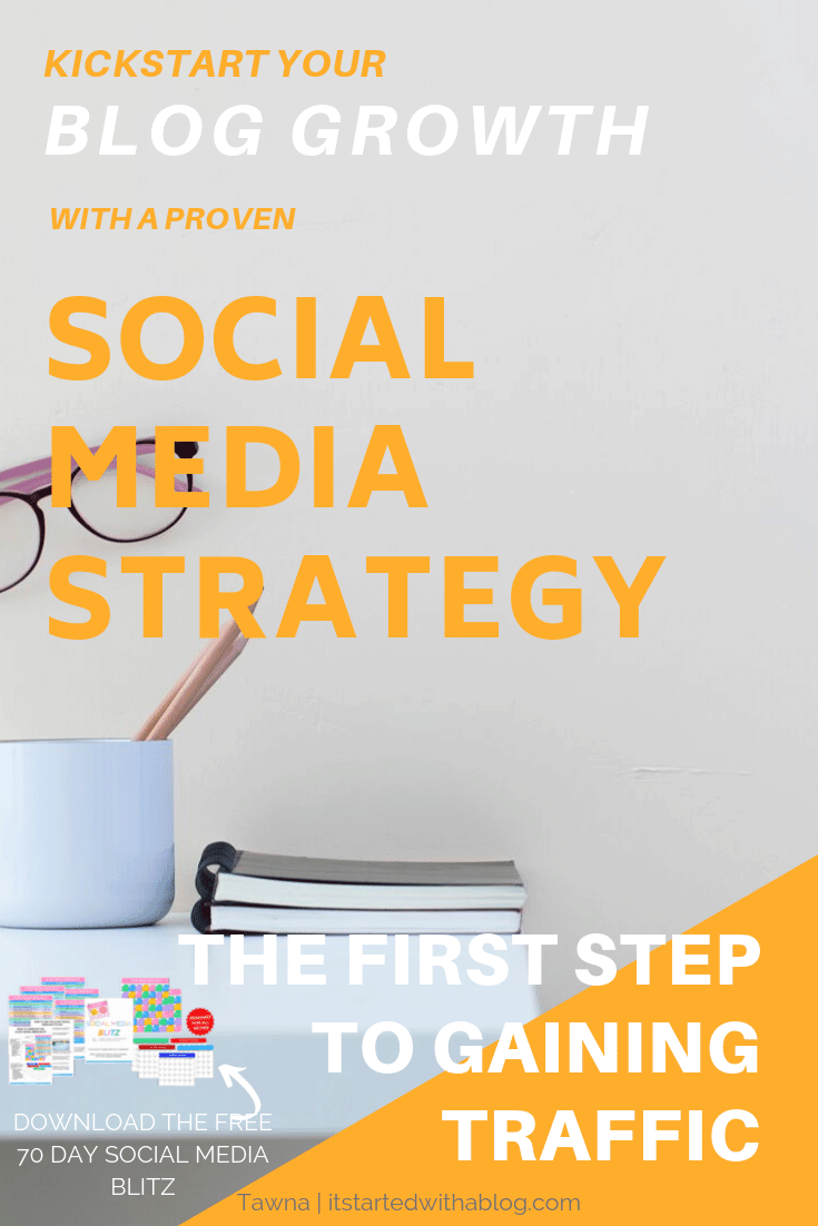 grow your blog traffic with a solid social media strategy