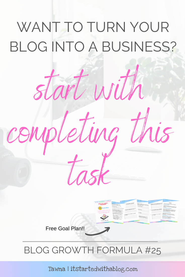 Creating a budget for your blog is the first step in turning it into a business with a plan