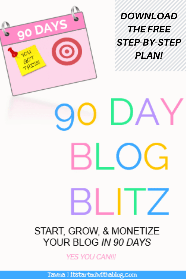 start your blog and be making money in 90 days